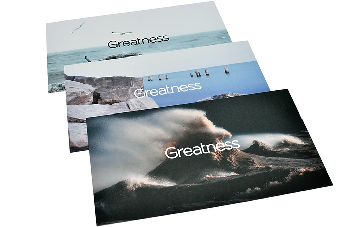 Greatness Post Cards