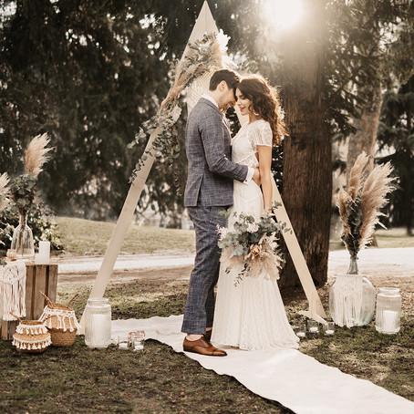 Boho-Hochzeit meets Mainhatten