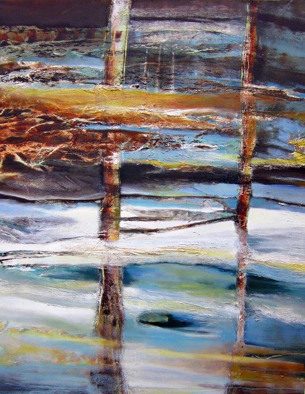 Les pieds dans l'eau 2012 60x48 vendu.jp