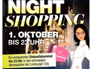 Night Shopping in Limburg