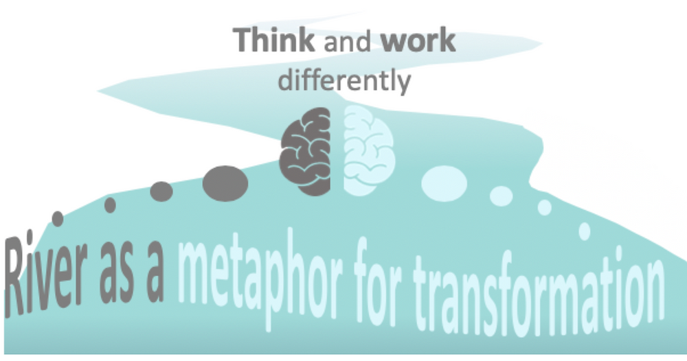 River as a metaphor for transformation