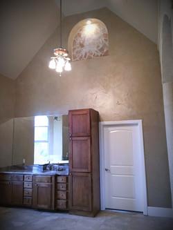 Master Bathroom Wall Glaze