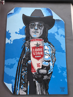 Doug Sahm Tribute mural