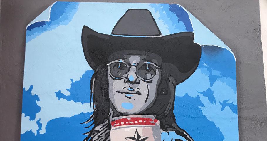 """""""Doug"""" Tribute mural"""