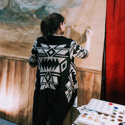 Live Painting at Home Show