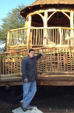 Aaron with Doseum Tree House