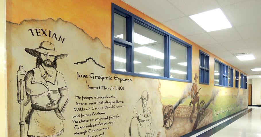 Esparza Elementary School Murals