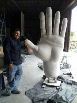 Big Tex Hand