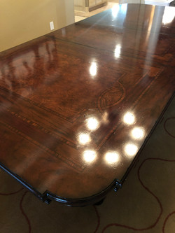 Inlay Dining Room Table