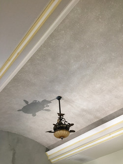 Silk Plaster Ceiling infused with Mica and Glitt