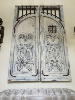 Decorative Mahogany Doors