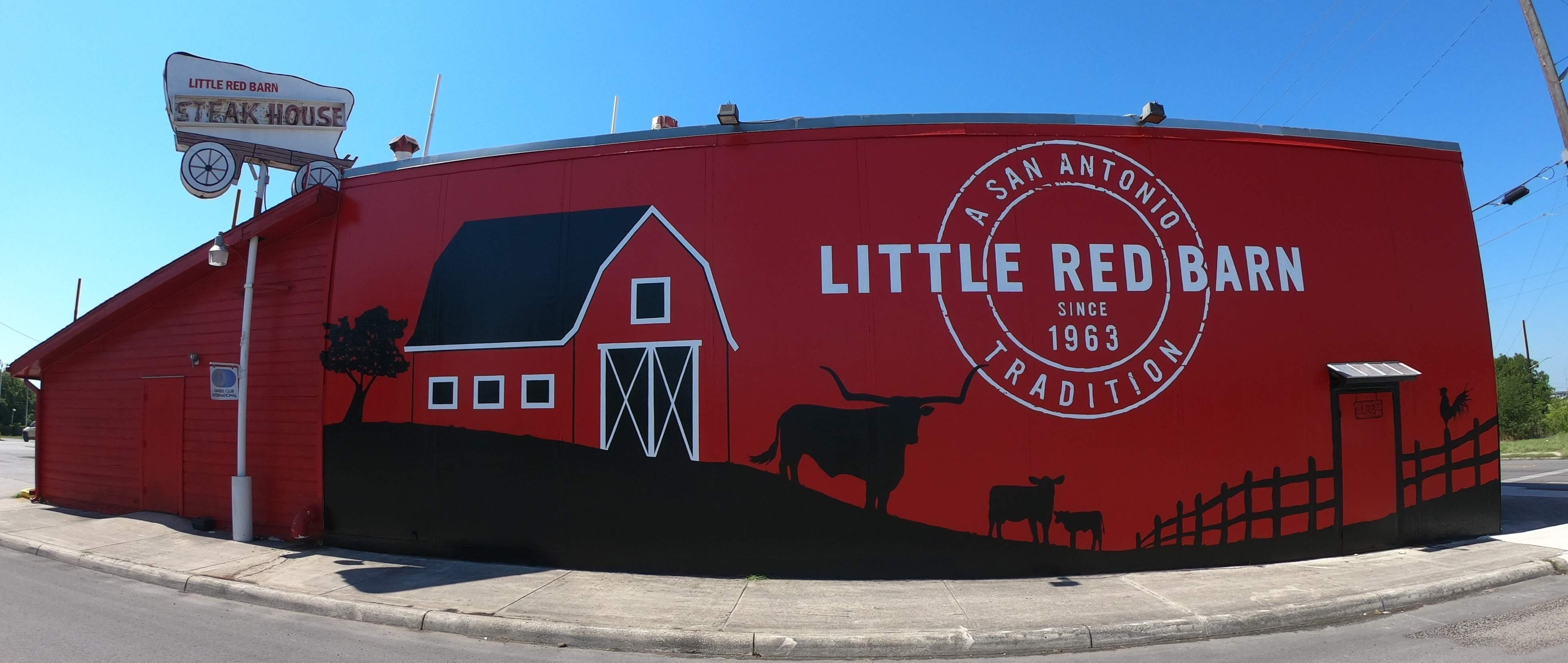 Little Red Barn Murals