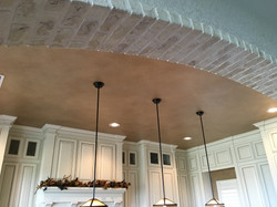 Faux Brick and Plaster