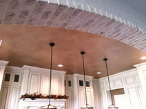 Faux Brick &Plaster Accents