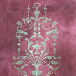 Venetian Plaster Decorative Stencil