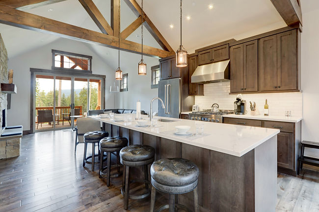 Amazing modern and rustic luxury kitchen