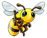 Transparent Bee 2.png