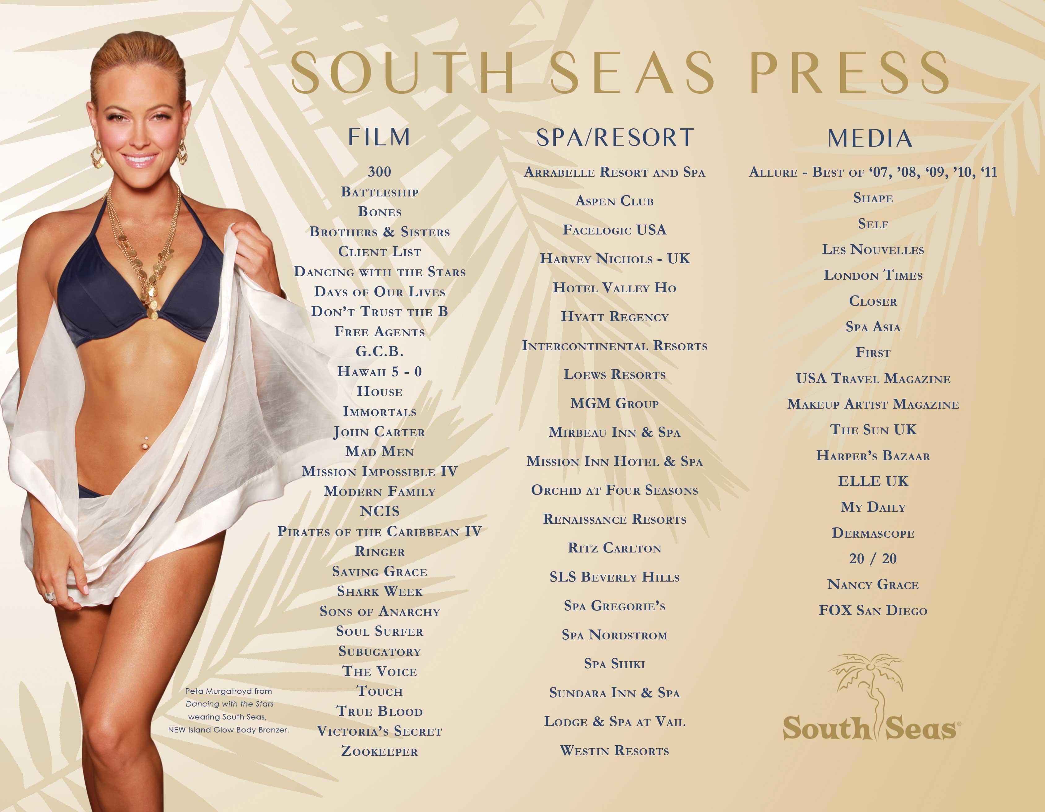South Seas Press Page