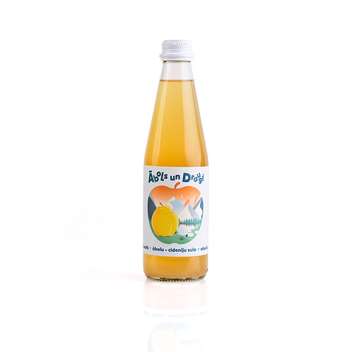 """""""Apple and Friends"""" apple - quince juice 0.33L"""
