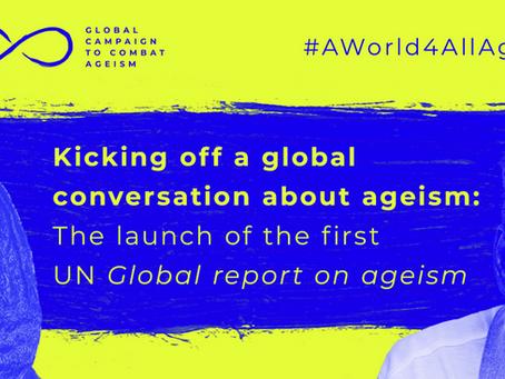 Pubblicato il report mondiale delle Nazioni Unite sull'ageismo