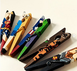 Character pegs
