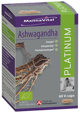 Ashwagandha Platinum (60 V-caps)