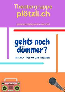 Online Theater Gehts noch dümmer?