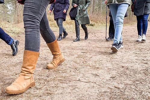 Coaching en healing/meditatie wandeling