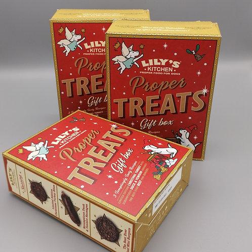 Lily's Proper Treats Christmas Gift box