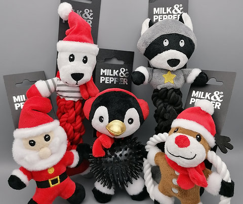 Milk & Pepper Christmas Toys