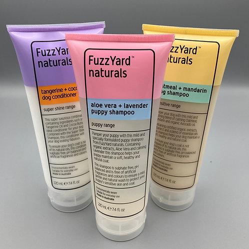 FuzzYard Naturals Shampoo/Conditioner