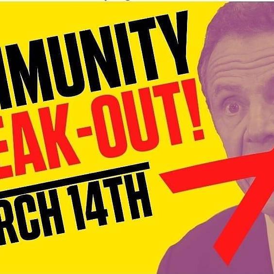 Community Speak Out