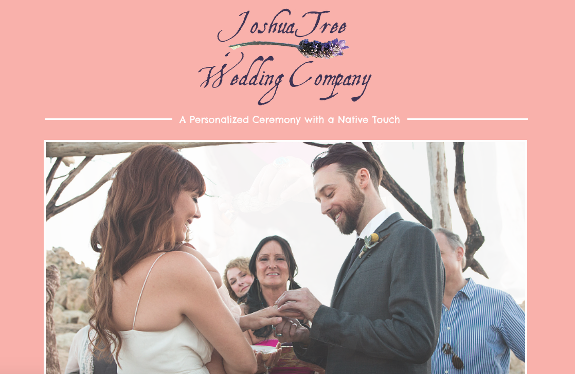Joshua Tree Wedding Company