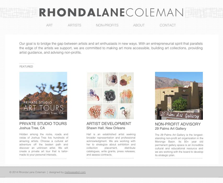 RhondaLaneColeman.com
