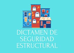 Dictamen de Seguridad Estructural