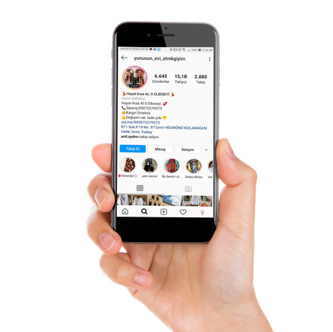 Yunusun Evi Etnik Giyim Instagram Yönetimi