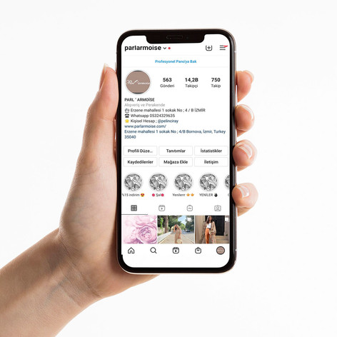 Parlarmoise Instagram Yönetimi
