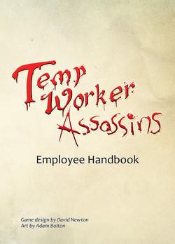 Temp Work Assassins - Front Cover 1