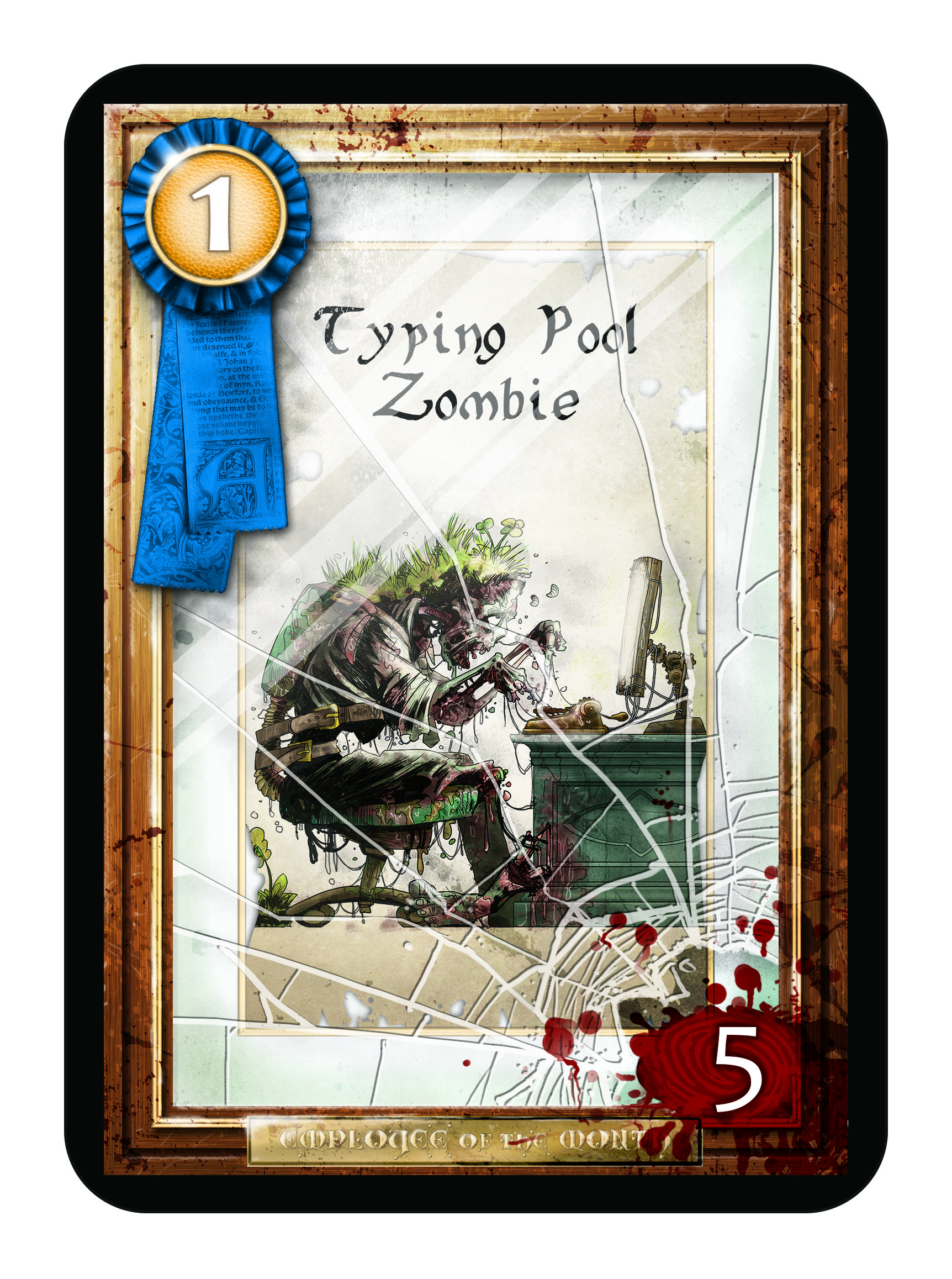 Typing Pool Zombie