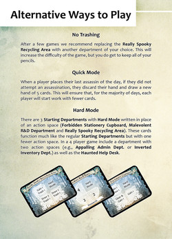 Temp Work Assassins - pg12 Alternative Ways to Play