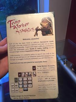 Demo Copy - back of the box