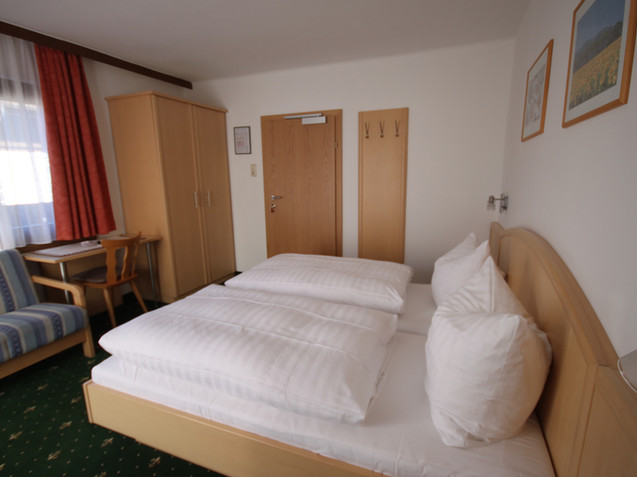 Zimmer in der Pension Aberger