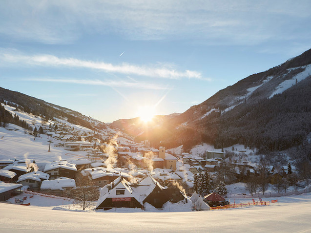 Saalbach im Winter