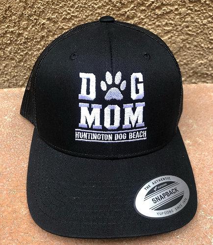 Dog MOM snap back Hat