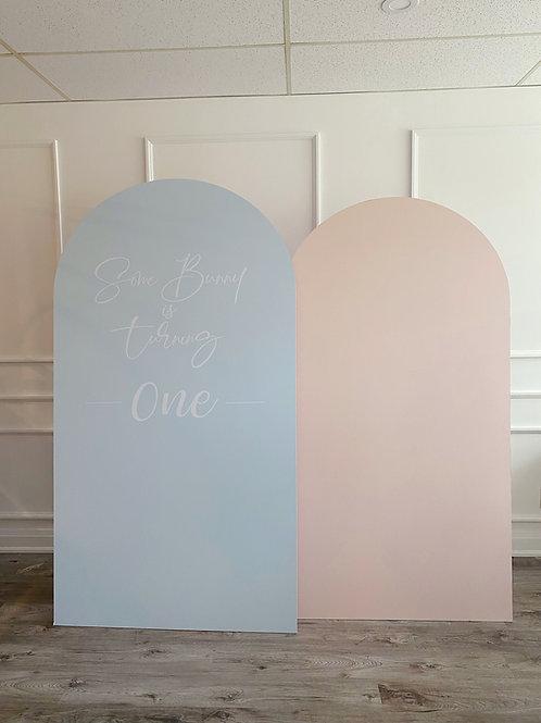 Panel Set (Blue and Peach)