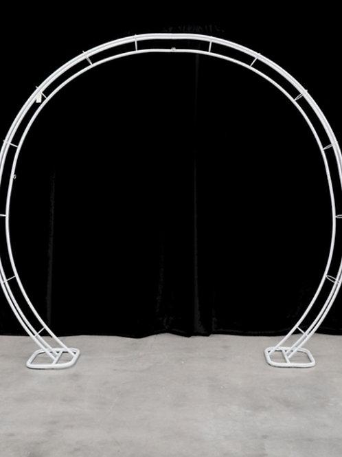 Round Circle Arch (White)