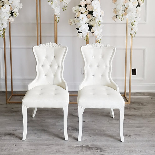Leather Chair (white)