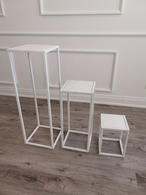 Metal Stand (White)