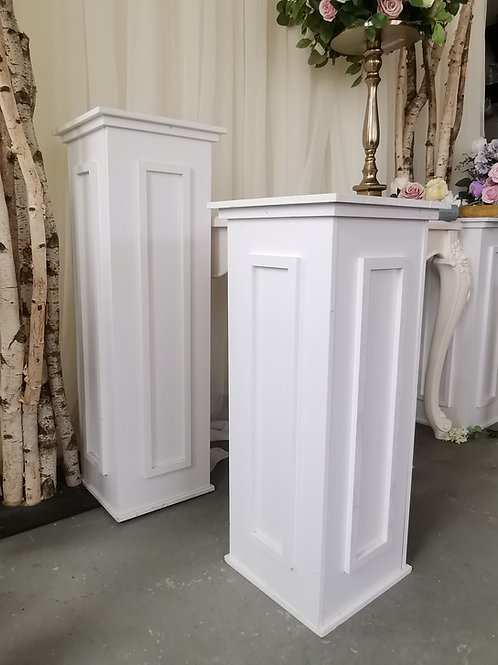 Rome Pedestal (White)