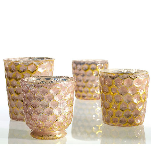 Pinky Gold Votive Cup